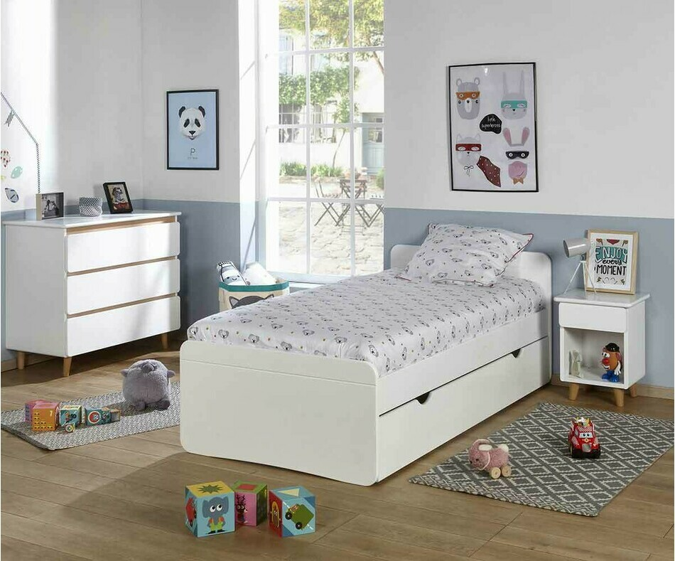 Chambre enfant Willow Blanche