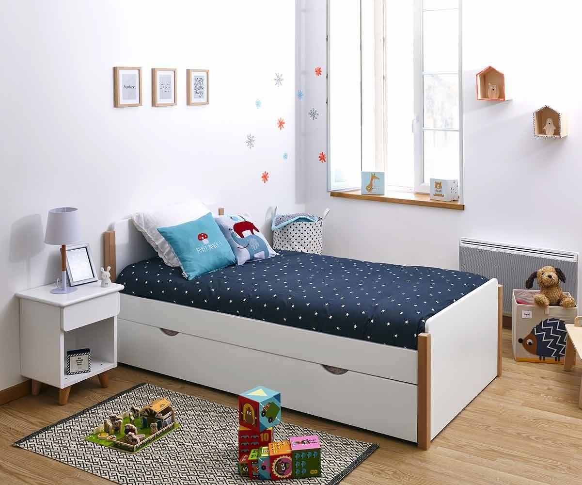 lit enfant sweet avec sommier et matelas fabrication fran aise. Black Bedroom Furniture Sets. Home Design Ideas