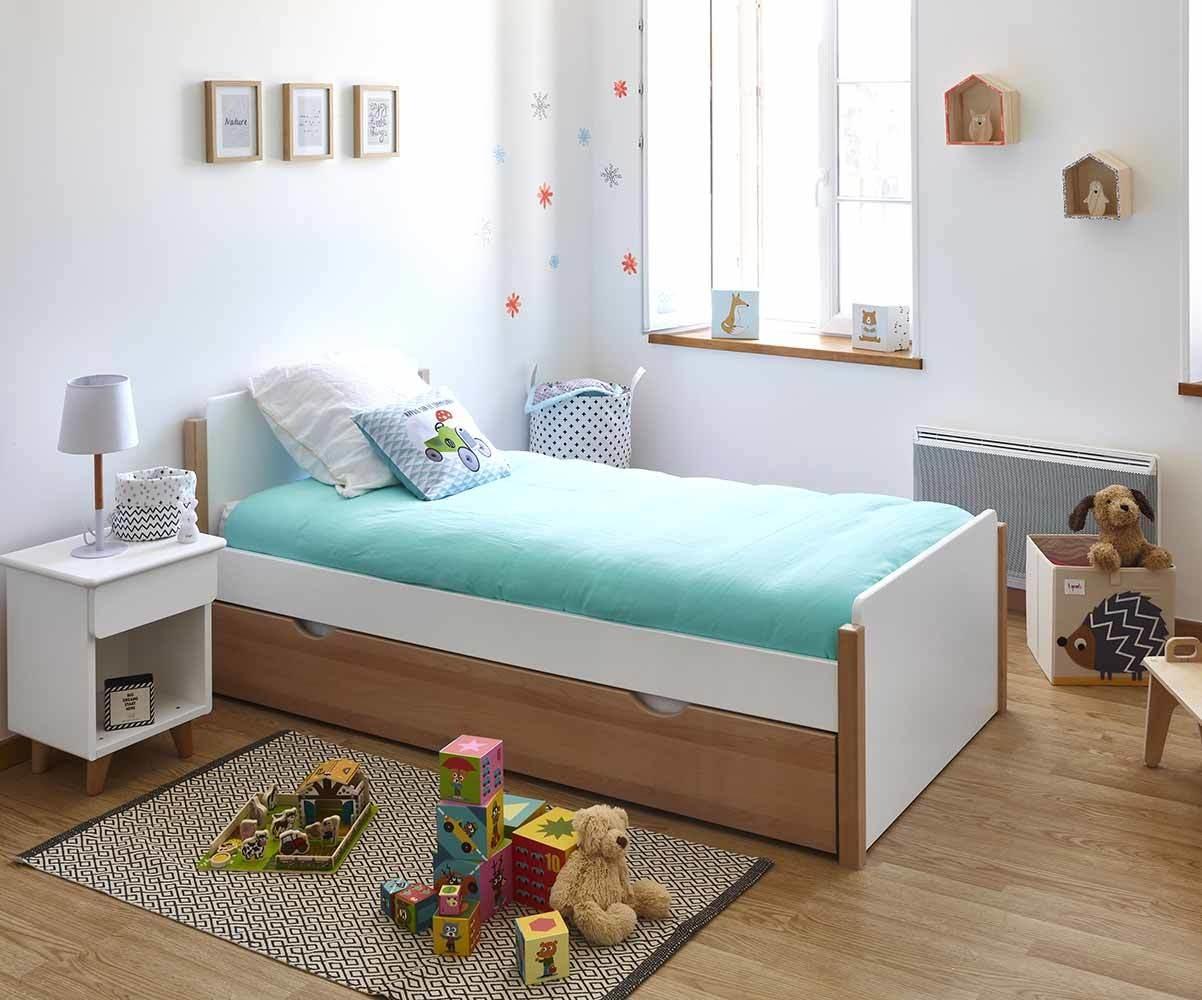 lit gigogne enfant sweet avec sommier mobilier cologique. Black Bedroom Furniture Sets. Home Design Ideas