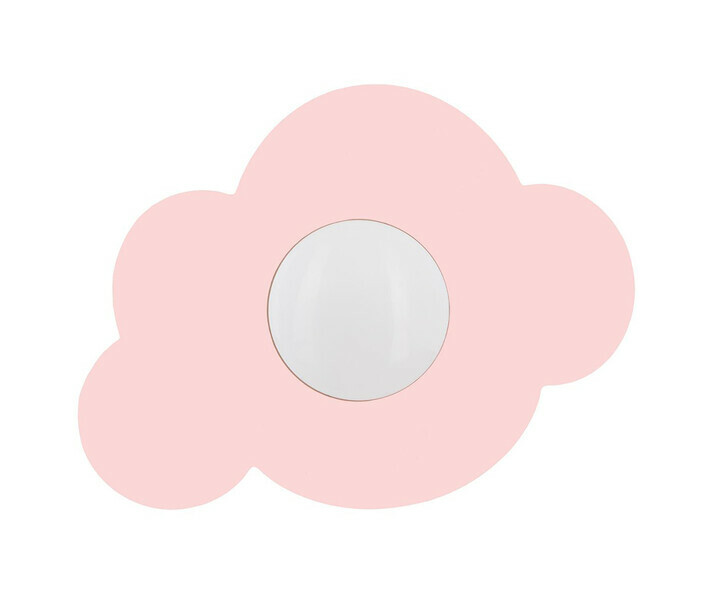 Applique murale Cloudy rose