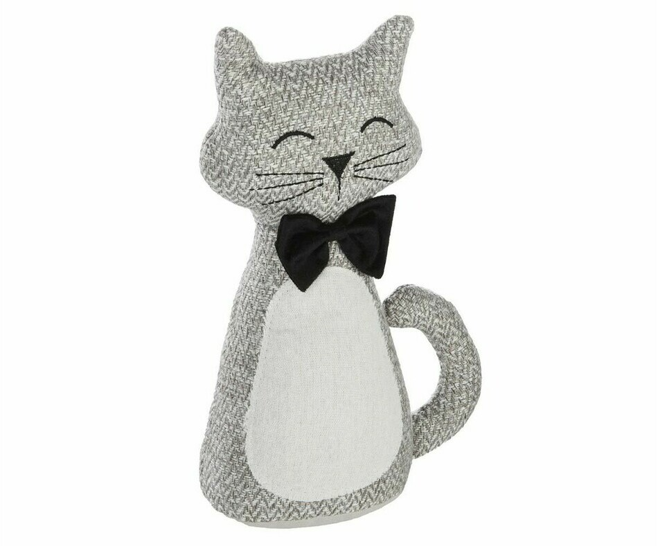 Coussin peluche Chat lin