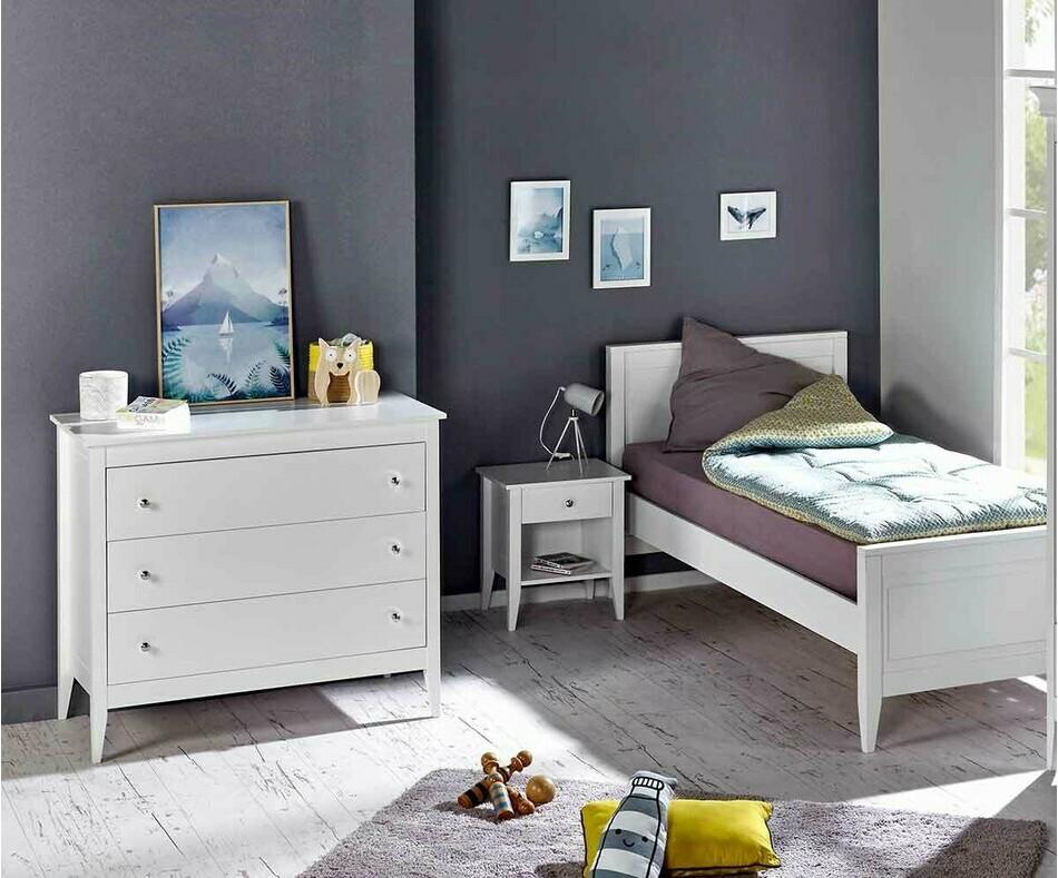 Chambre enfant lou lit commode chevet au style intemporel - Meubles chambres enfants ...