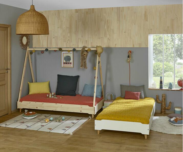 Lit Enfant en Bois pour Filles et Garçons - Ma Chambre d\'Enfant