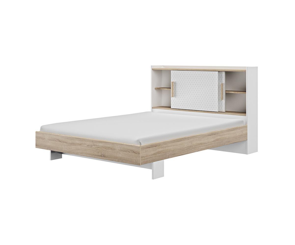lit adulte celo avec matelas et sommier pour une chambre. Black Bedroom Furniture Sets. Home Design Ideas