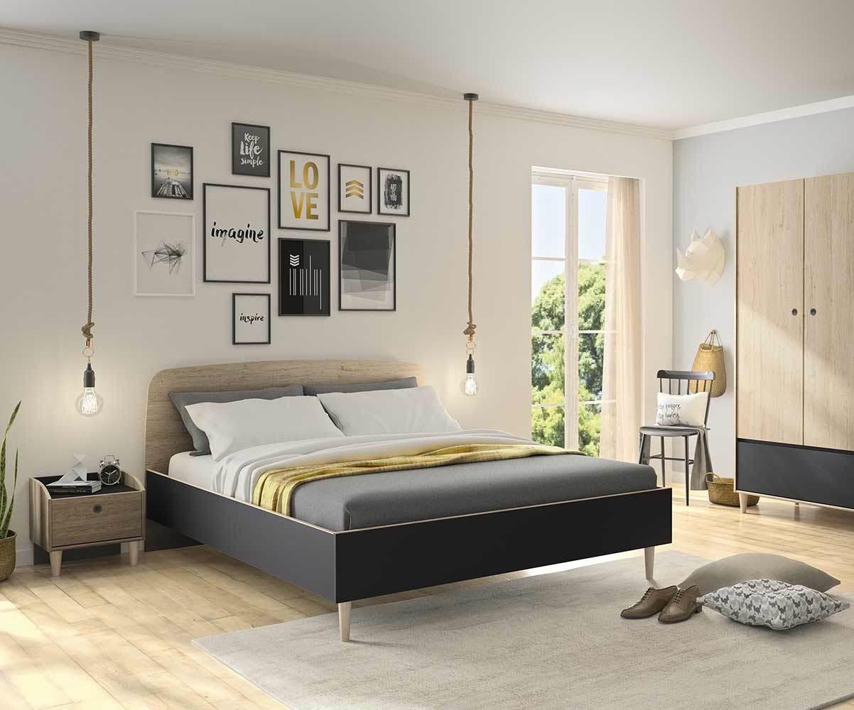pack lit adulte yomi achat de lit adulte complet avec. Black Bedroom Furniture Sets. Home Design Ideas