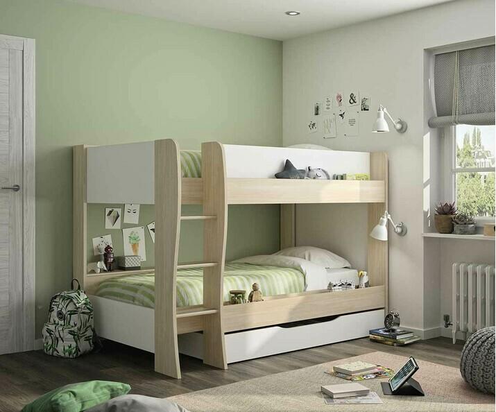 lit superpos en bois massif ma chambre d 39 enfant. Black Bedroom Furniture Sets. Home Design Ideas