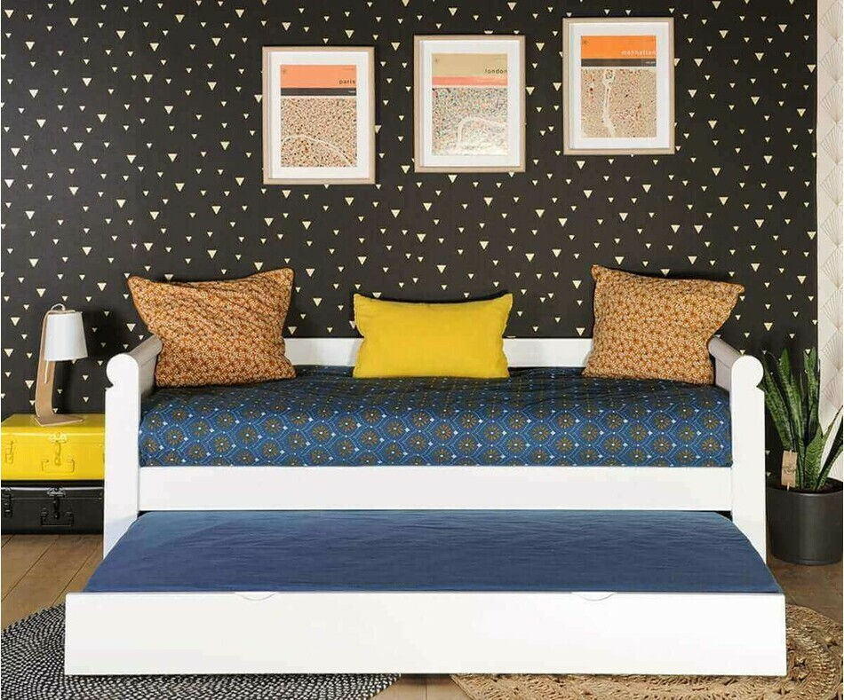 pack lit gigogne banquette adulte odeon set de lit. Black Bedroom Furniture Sets. Home Design Ideas