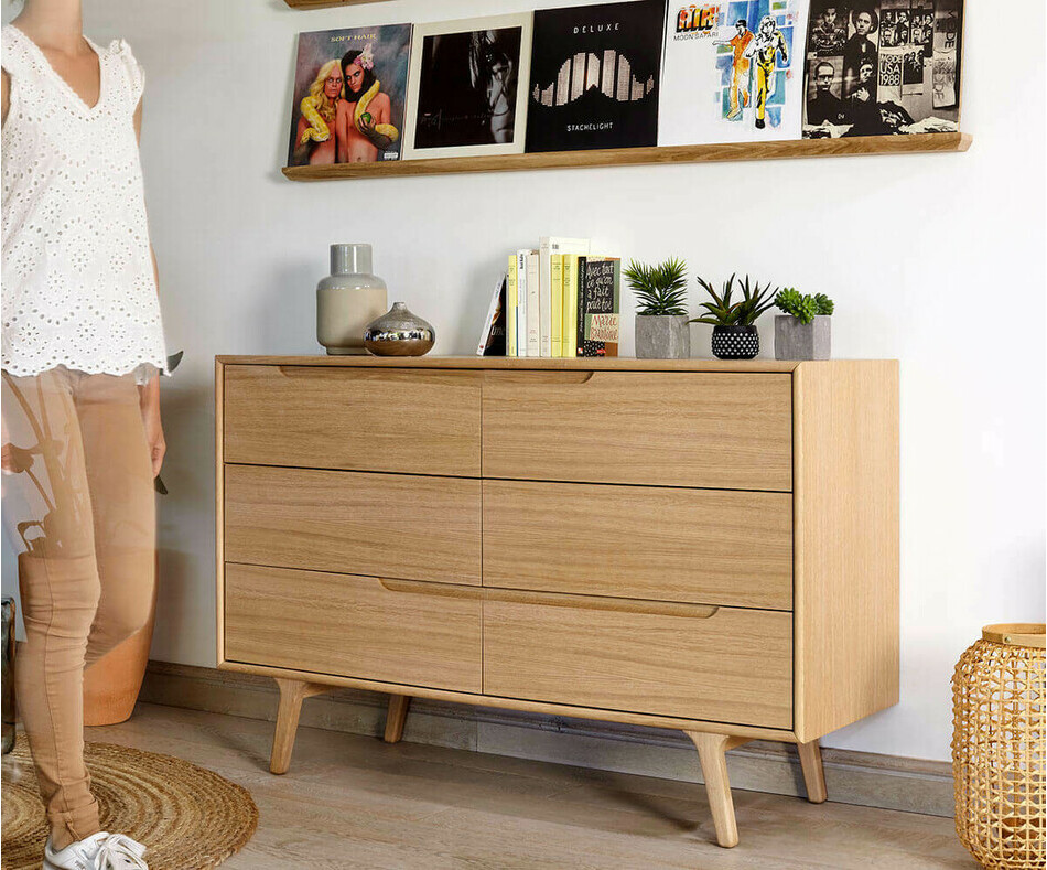 Dimensions commode volga