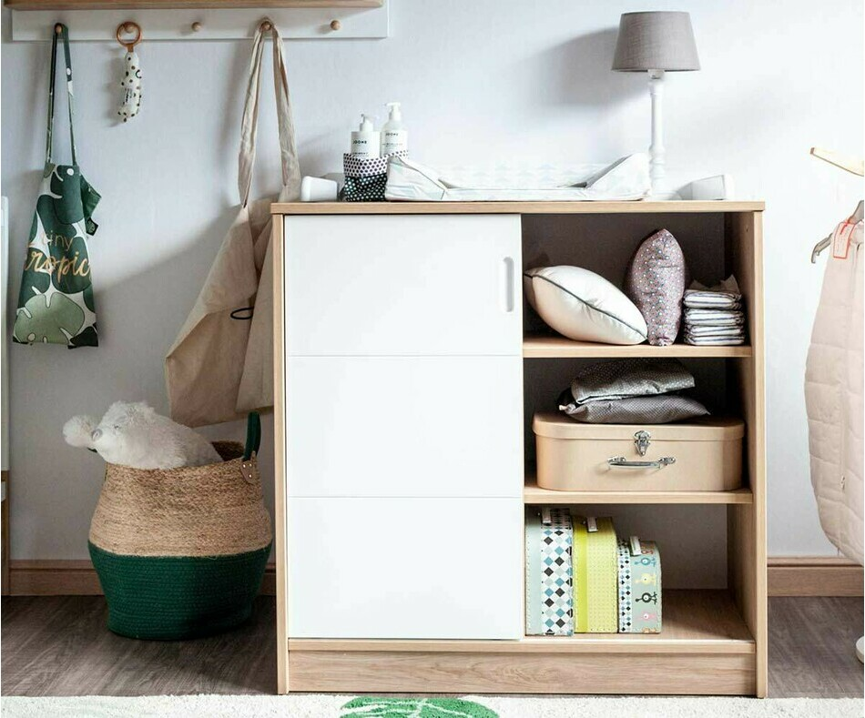 Commode bébé Holly en bois