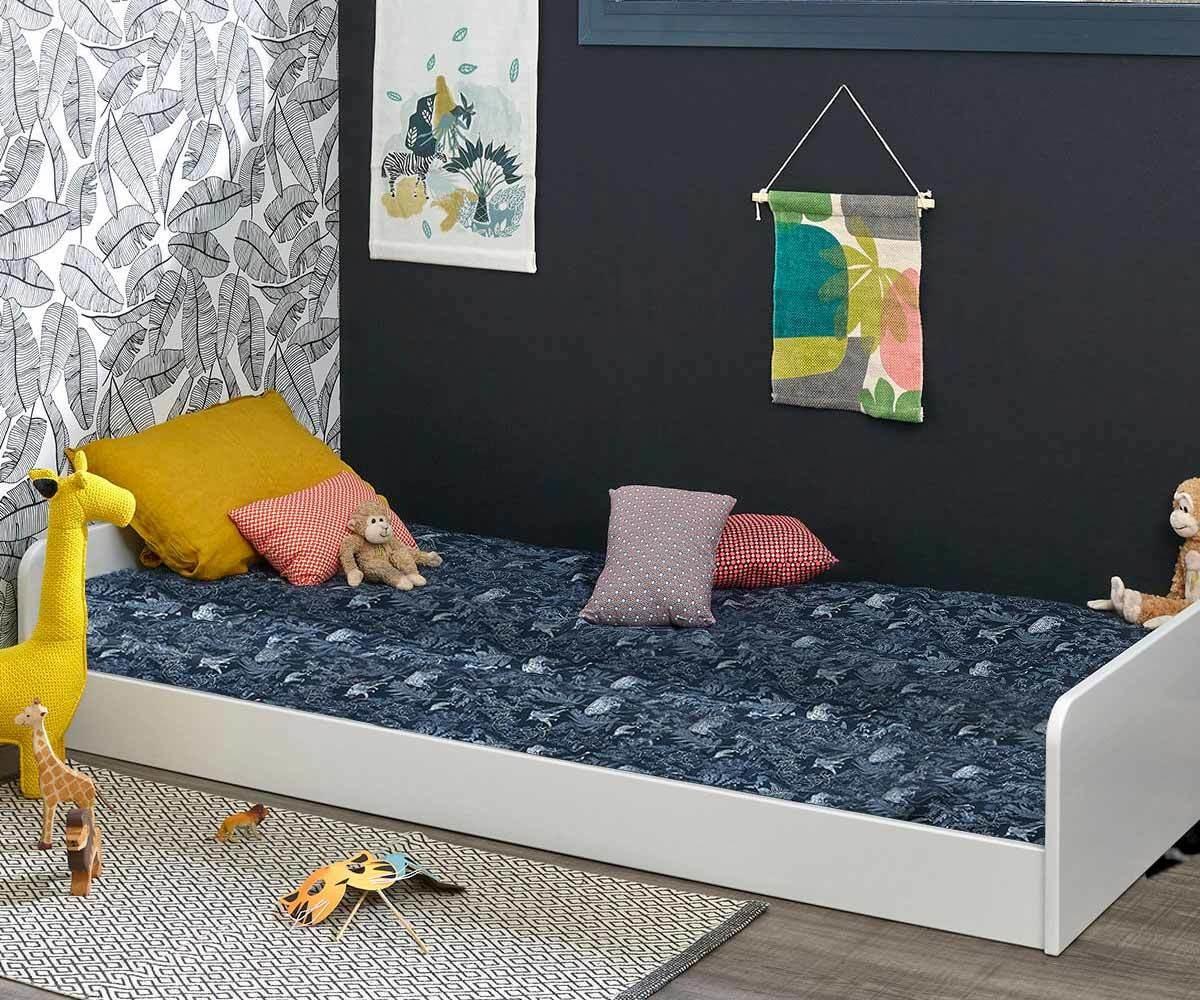 lit enfant avec sommier  octave mobilier en pin massif
