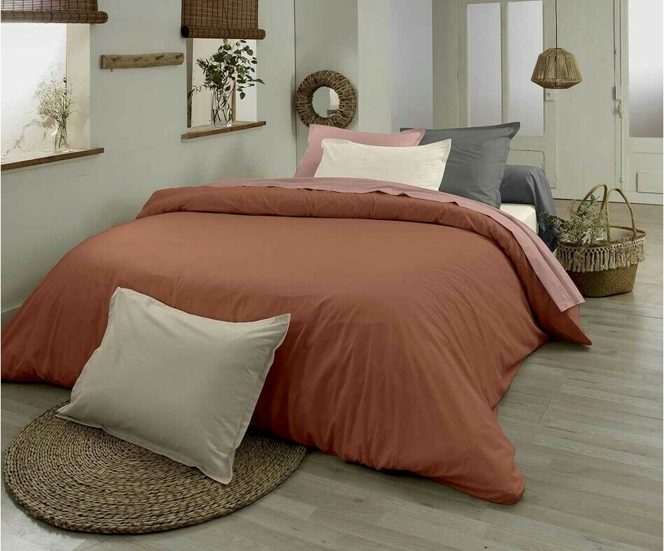 Drap plat adulte Rose