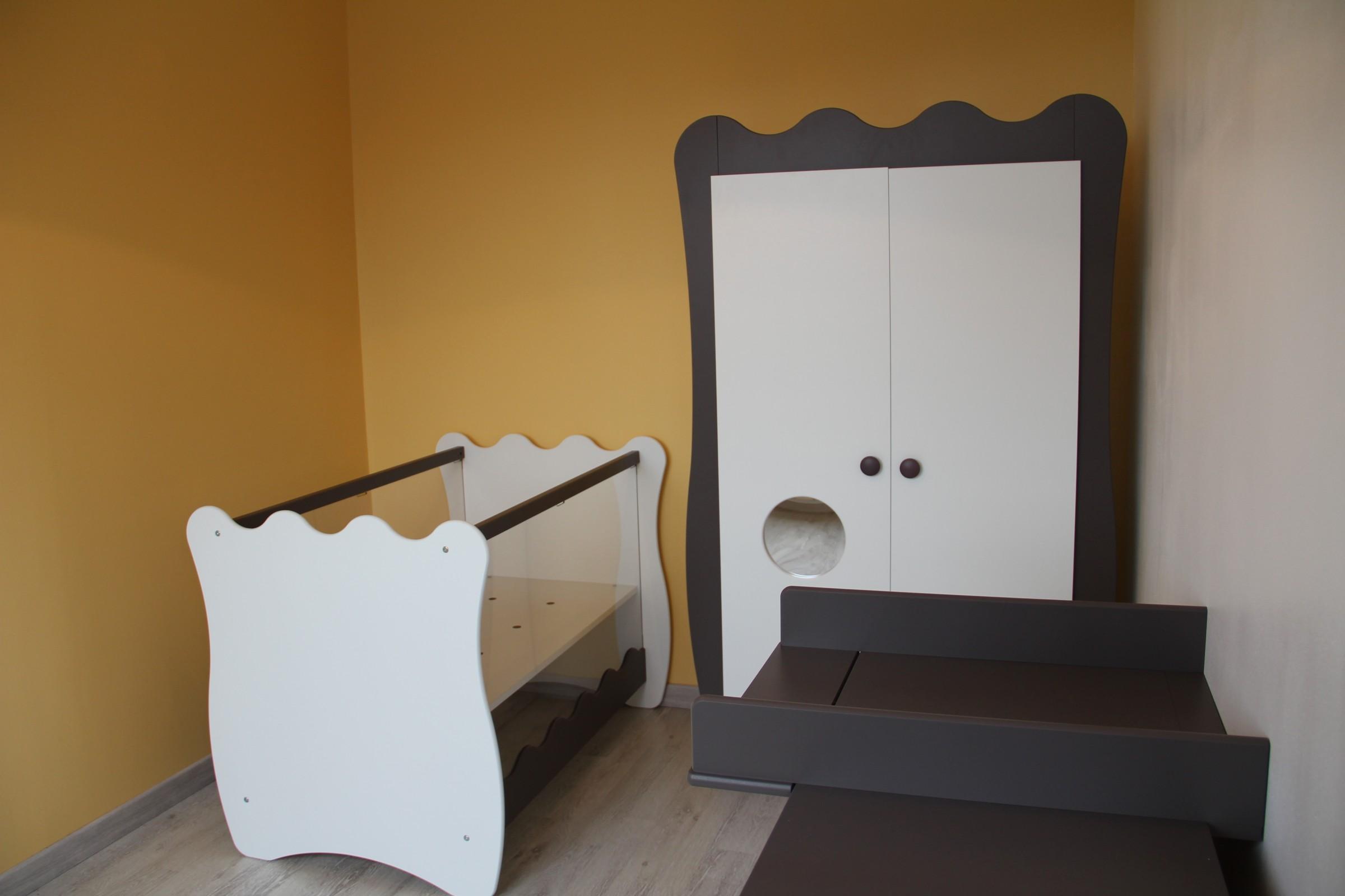 Photo client de la chambre bébé doudou taupe