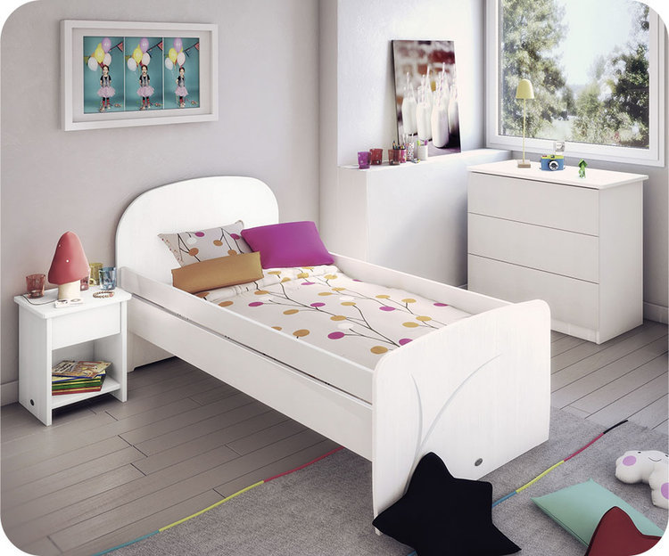 collection enfant luen blanche mobilier made in france. Black Bedroom Furniture Sets. Home Design Ideas