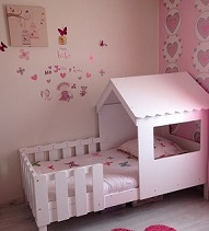 le lit enfant cabane swam de betty et de caroline. Black Bedroom Furniture Sets. Home Design Ideas